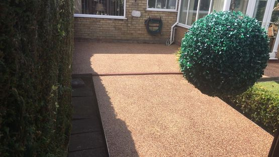 resin driveways brigg, lincolnshire garden paving designs