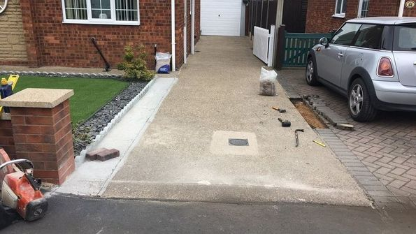 hard landscaping brigg, lincolnshire paving services